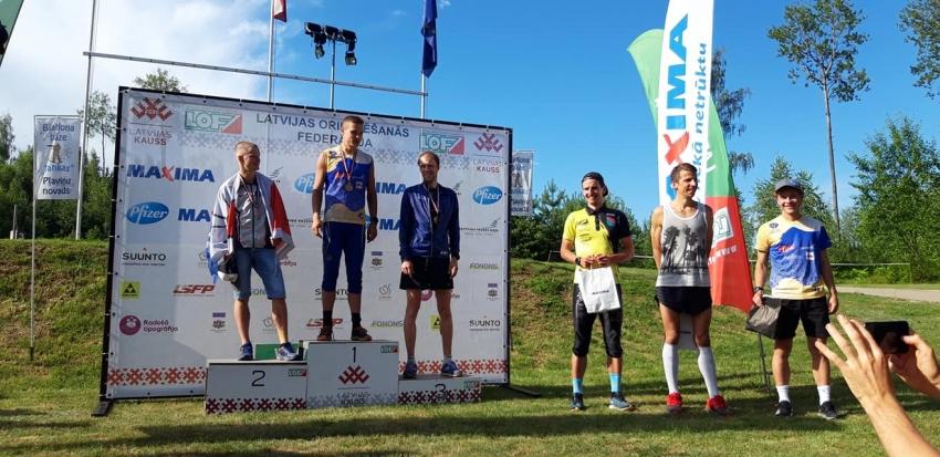 Latvijas čempionāts garajā distancē