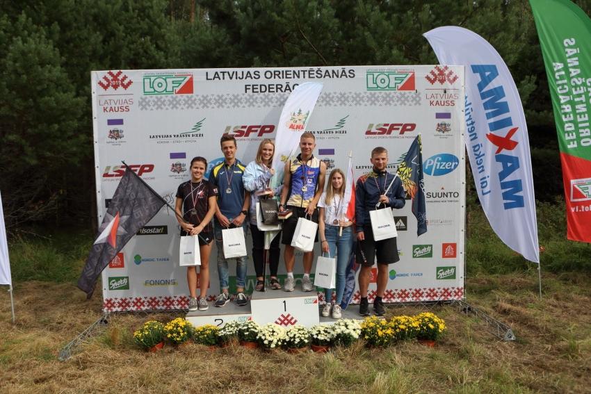 Latvijas čempionāts vidējā distancē.