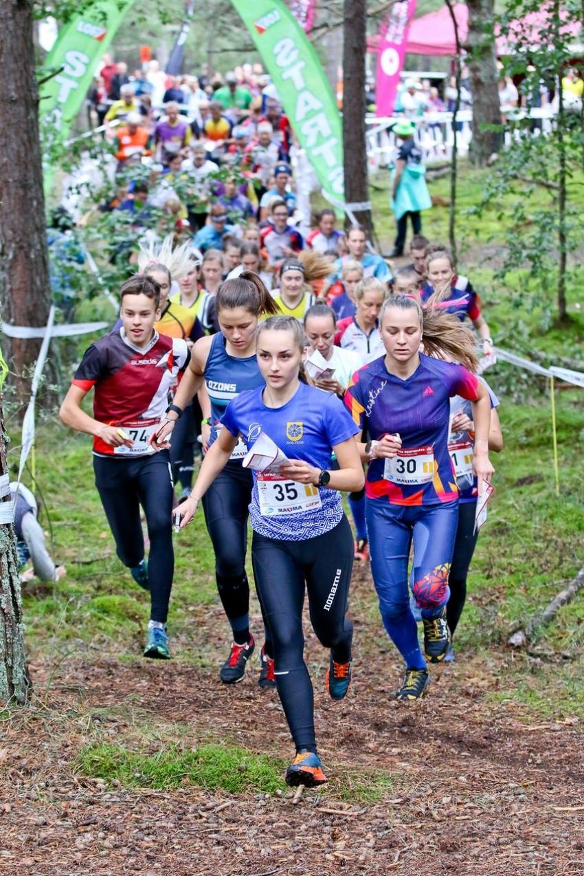 Latvijas čempionāts vidējā distancē un stafetē