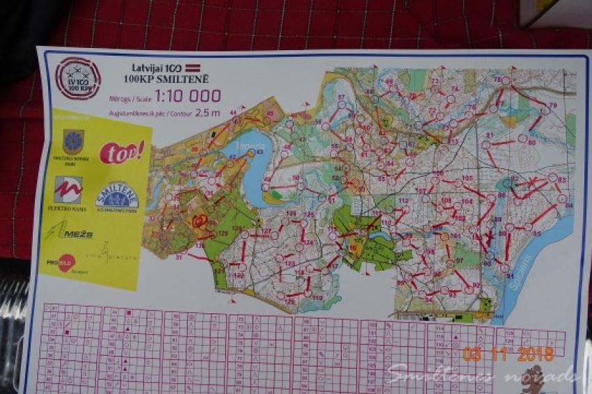 Latvijai 100-100 KP Smiltenē rezultāti