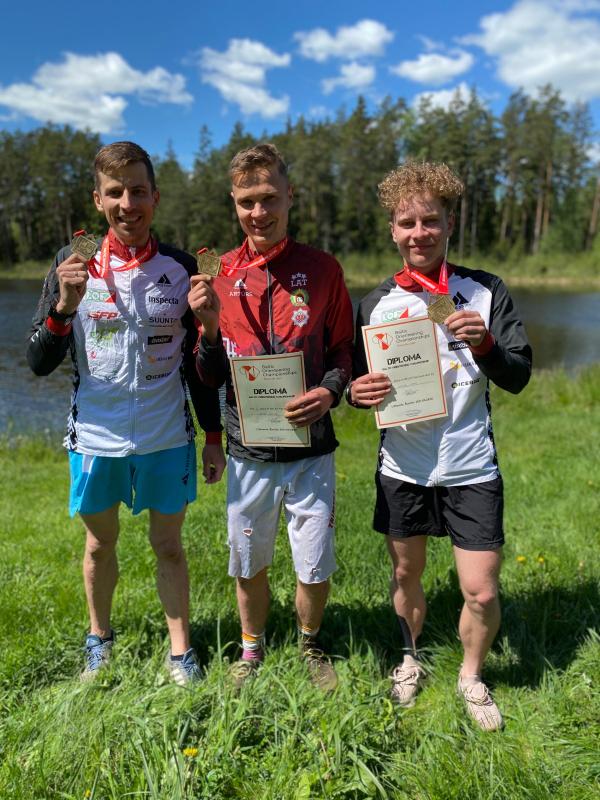 Panākumi Baltijas čempionātā Šauļu apkārtnē.