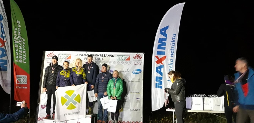 Latvijas čempionāts nakts distancē