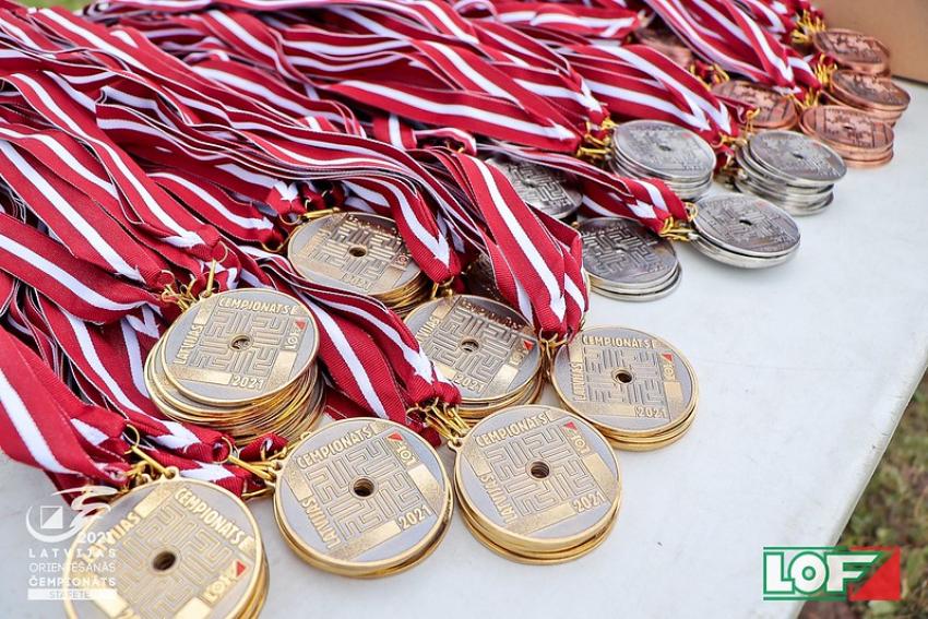 Latvijas čempionāts stafetē